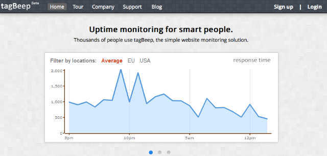 monitor website downtime