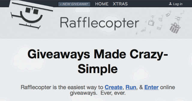 create online giveaways