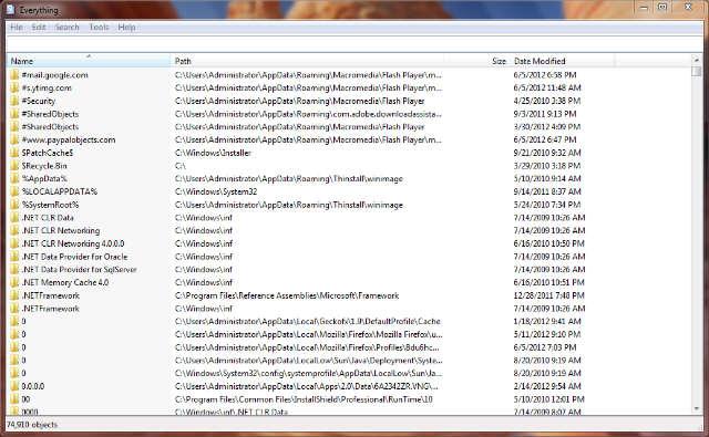 search windows fast