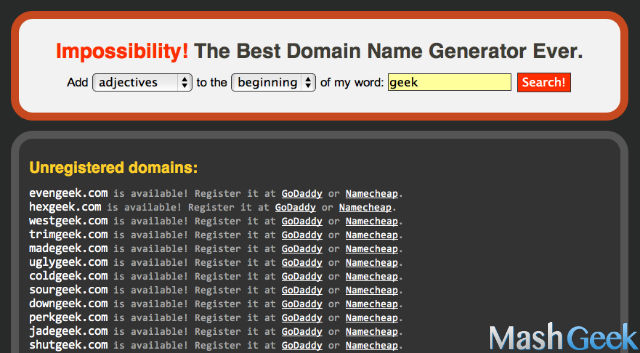 domain name generators