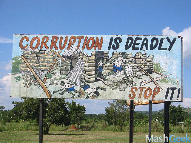 stop corruption in india