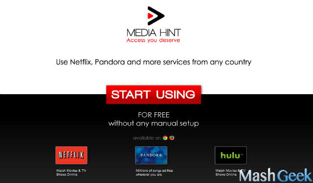 access netflix outside us